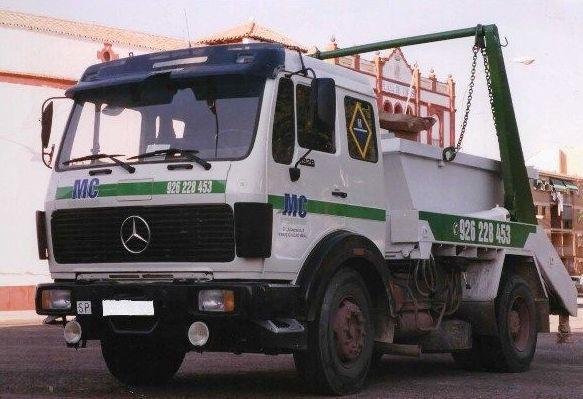 Camiones para contenedores