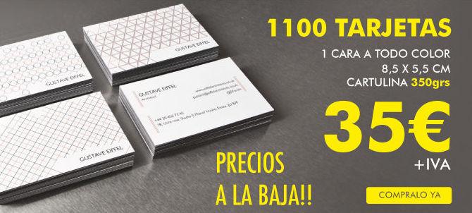 tarjetas visita barcelona