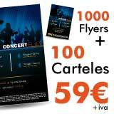 oferta flyers y posters Barcelona