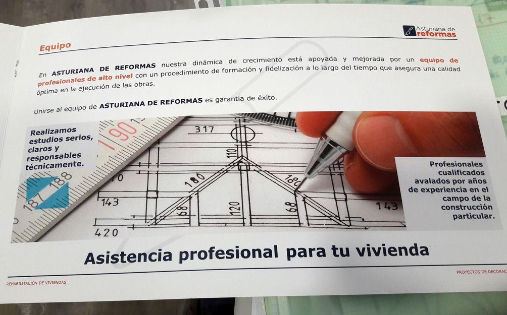 Proyectos de reformas y decoración en Gijón