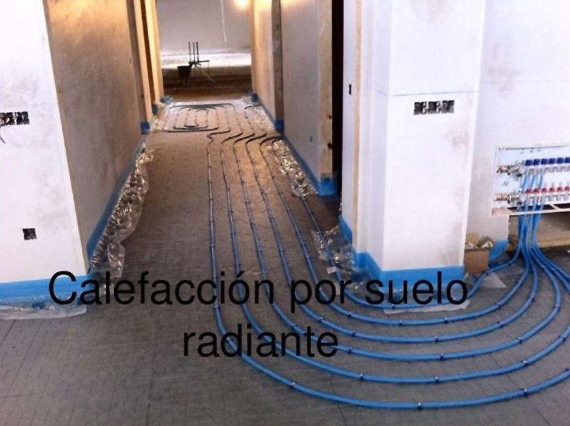 Instalaciones de calefacción por suelo radiante en Gijón