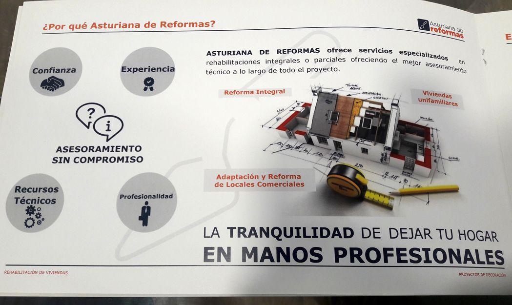 Reformas de viviendas y locales comerciales en Gijón
