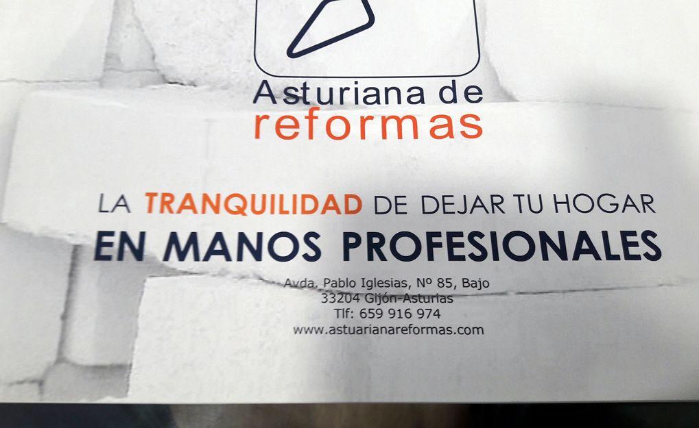 Reformas profesionales en Gijón