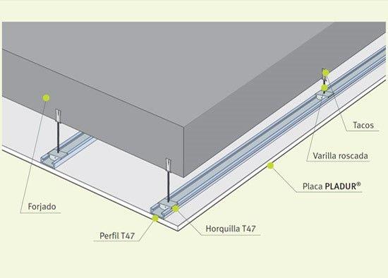 Falsos techos: Servicios de Asturiana de Reformas