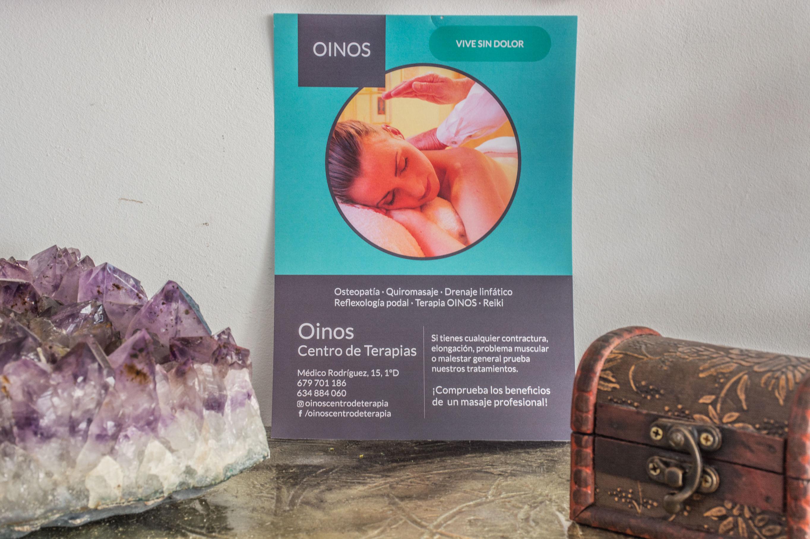 Foto 5 de Terapias manuales en A Coruña | Oinos Centro de Terapia