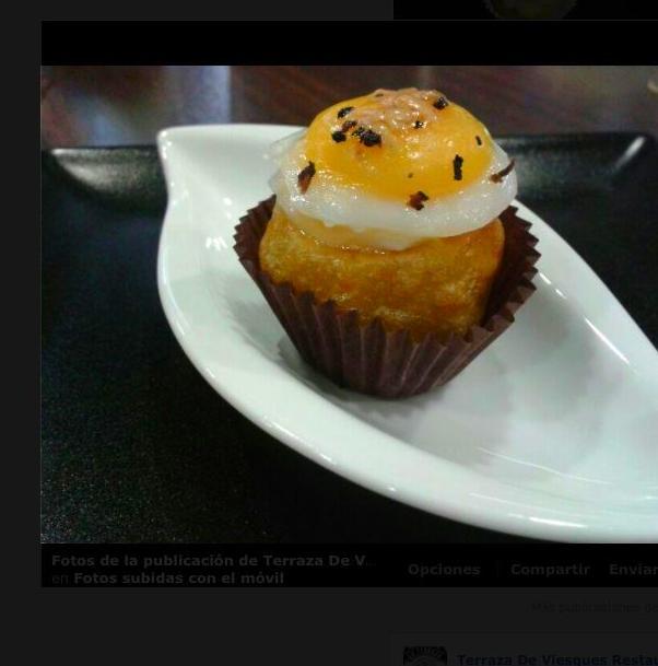 Tortilla bombón. Primer premio campeonato de tortillas Gijon 2012