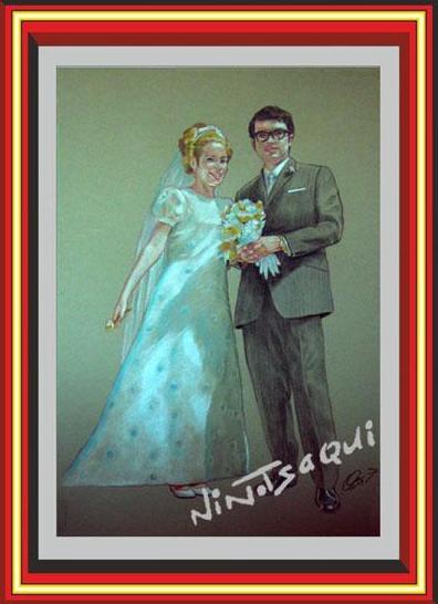 Retrato pareja, Retrato novios, Retrato boda