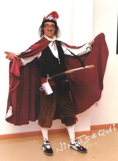 Dalí Rey, personaje Dalí
