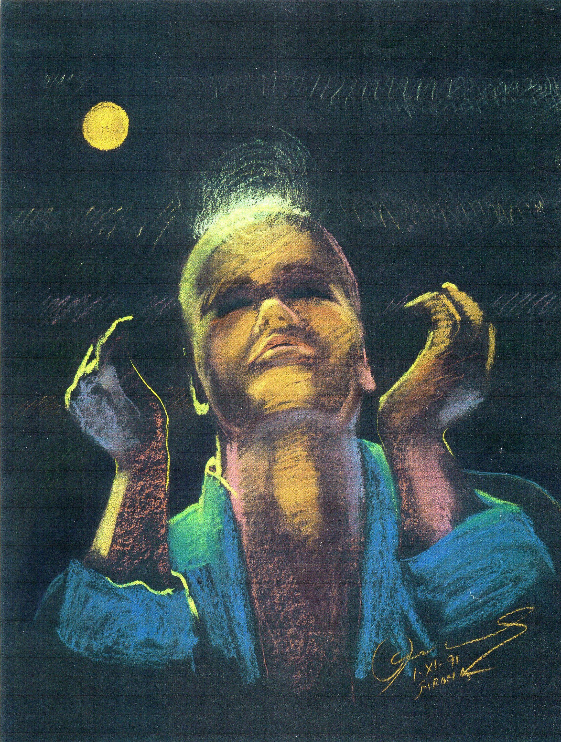 Luna intensa
