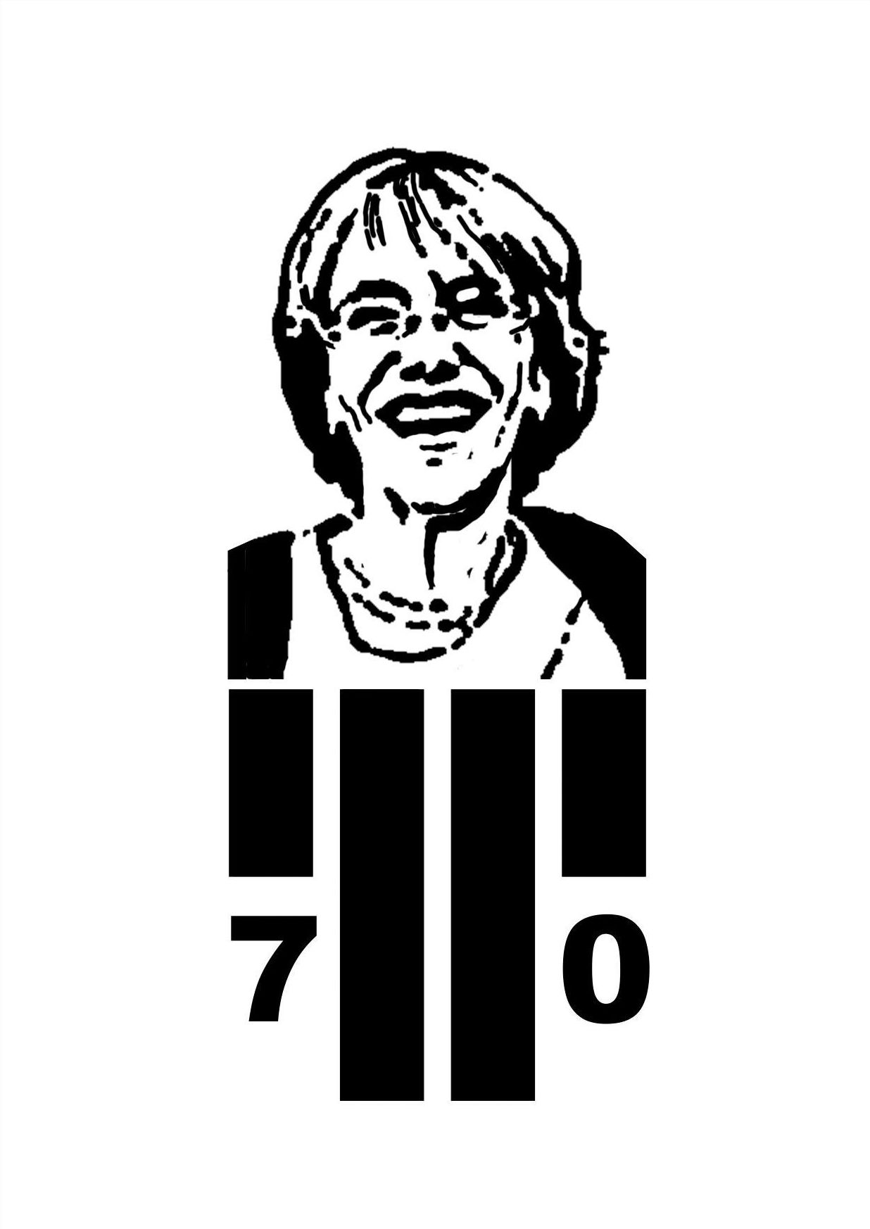 Logo aniversario, Logo individual