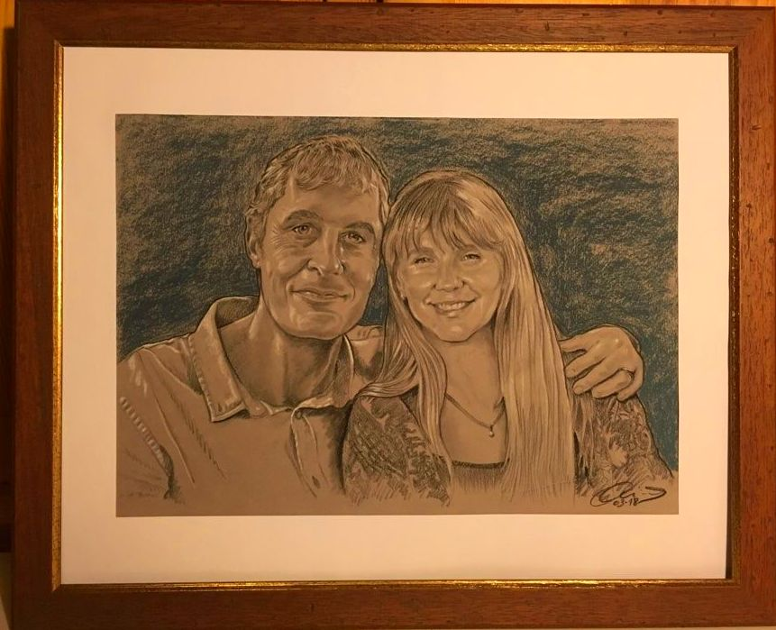 Retrato pareja, Retrato para aniversario