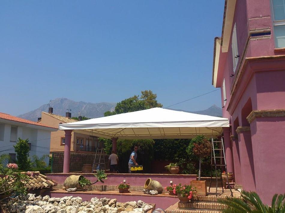 Foto 3 de Toldos y pérgolas en Marbella | Toldos Galeón