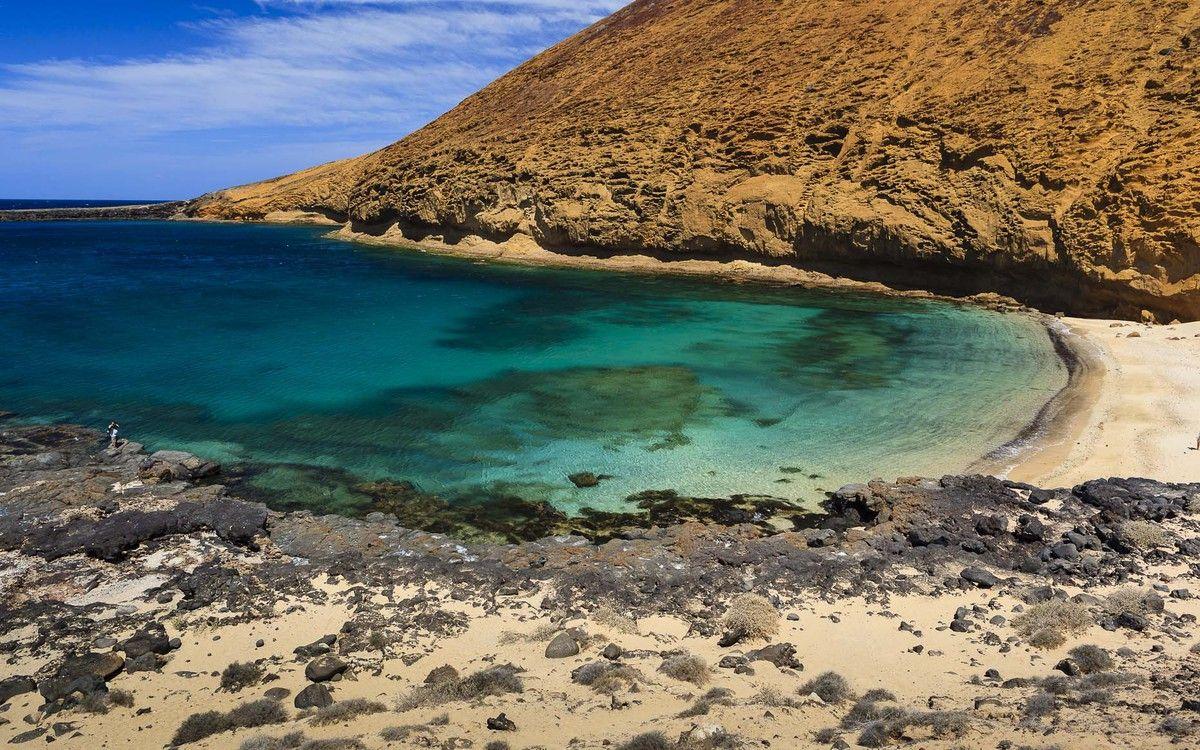 Beaches of the island of La Graciosa
