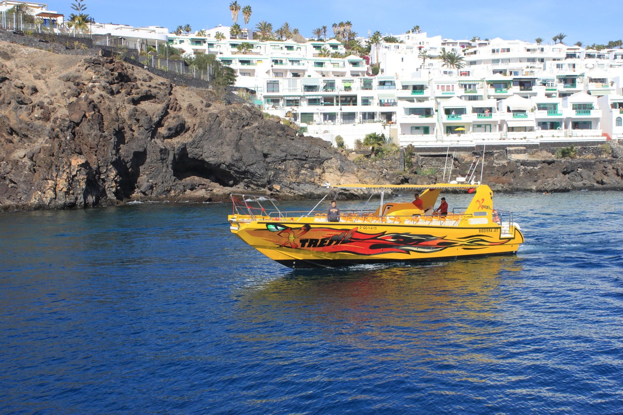 Isla de Lobos and the dolphins route