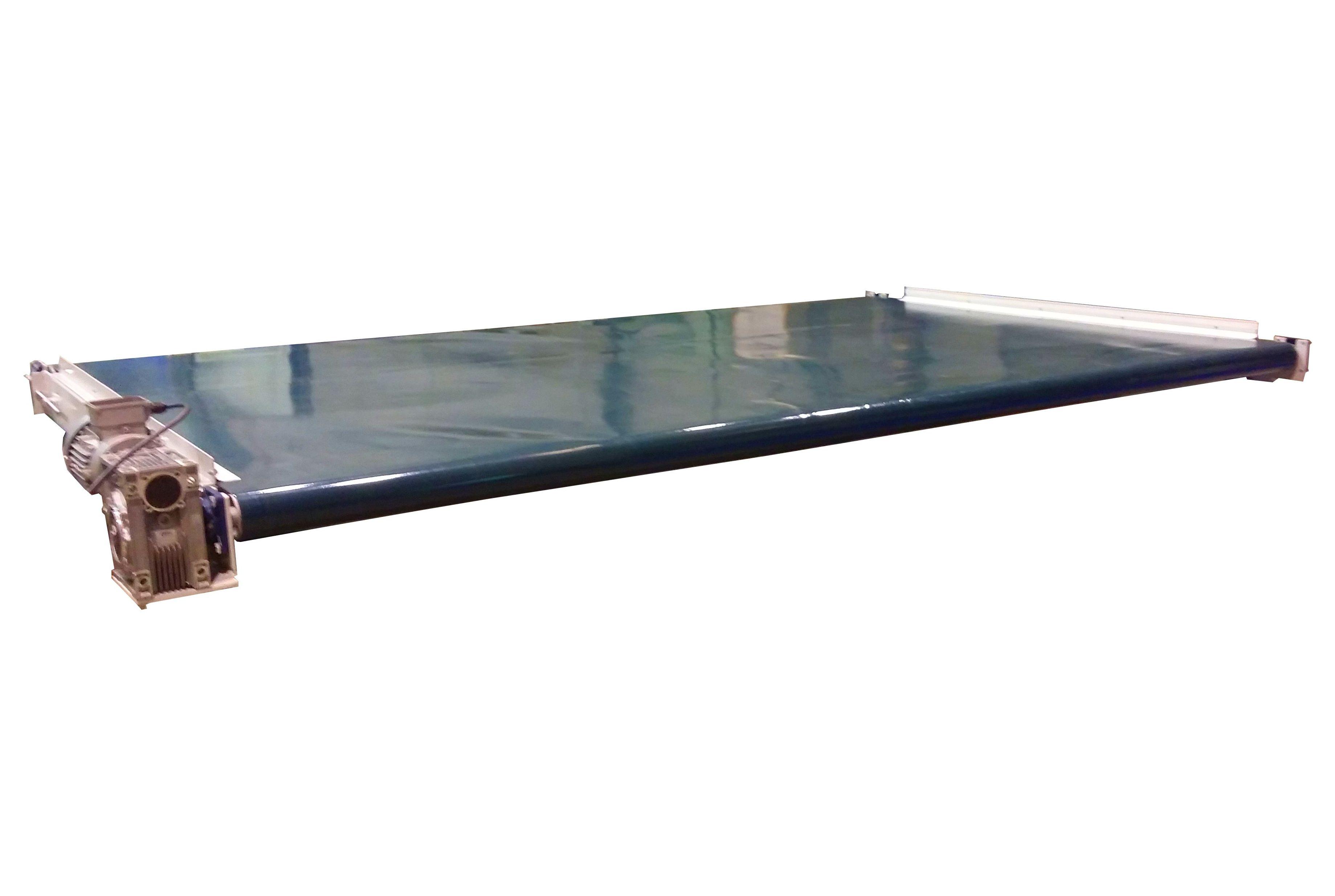 Cinta transportadora cuna Chapa 3500 de ancho x 2090 de largo
