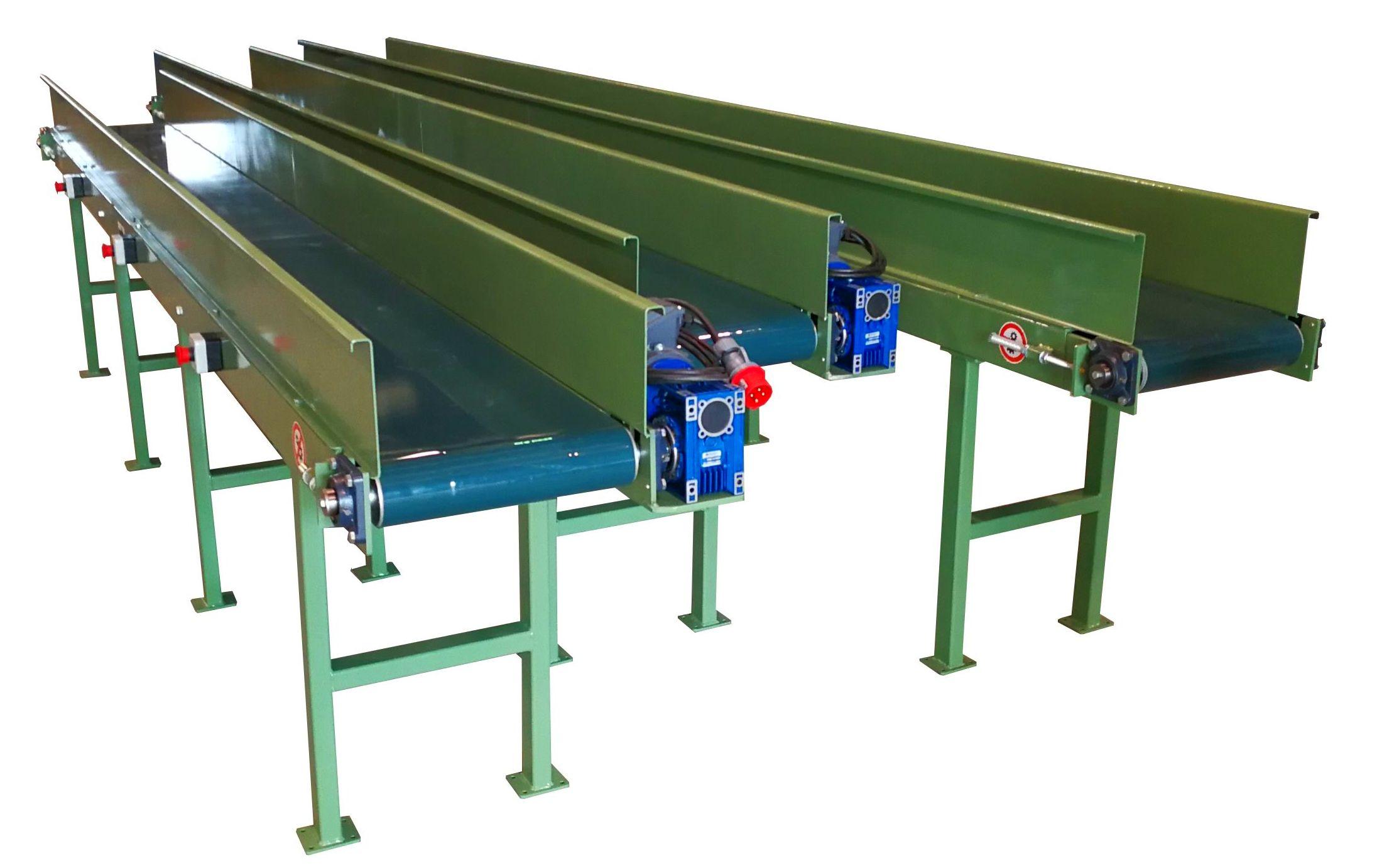 Cintas transportadoras bandas PVC