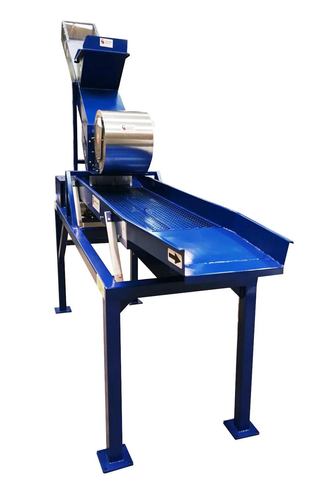 Clasificadora Calibres con sistema de ventilación para extracción partículas