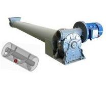 Sinfin transportador con tubo en acero al carbono o inoxdable