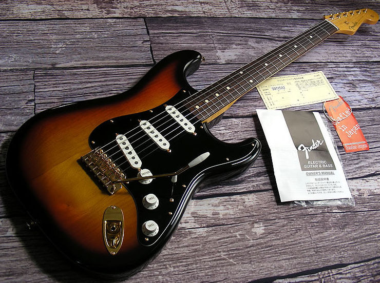Fender Stratocaster  Japan  Stevie Ray Vaughan