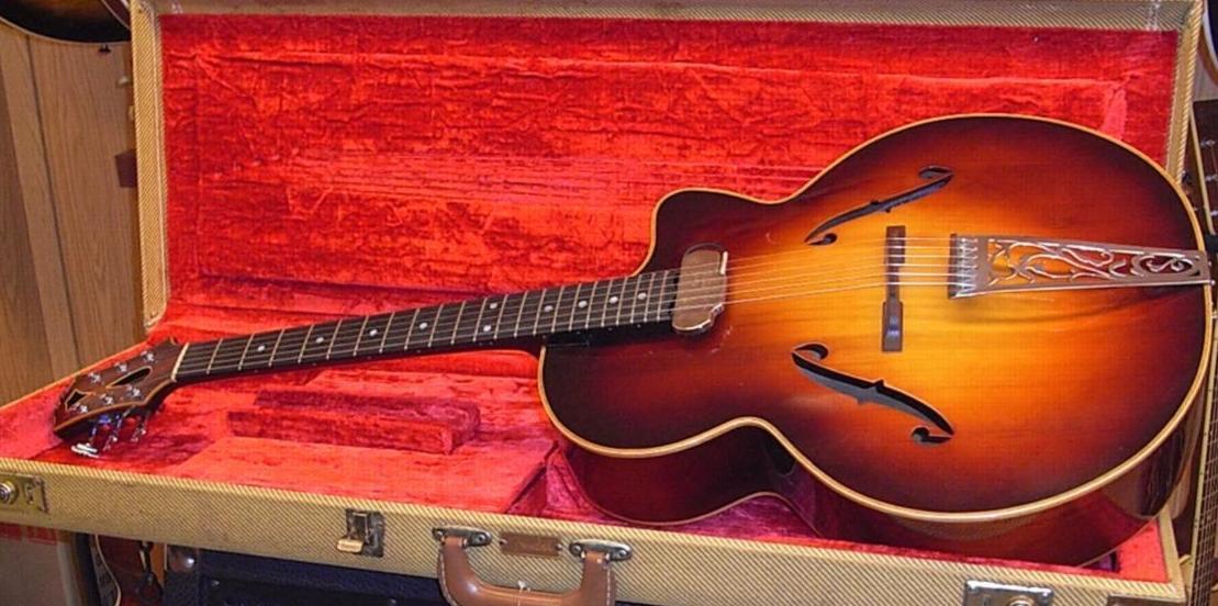 Guitarra Yacopi Jazz 1947