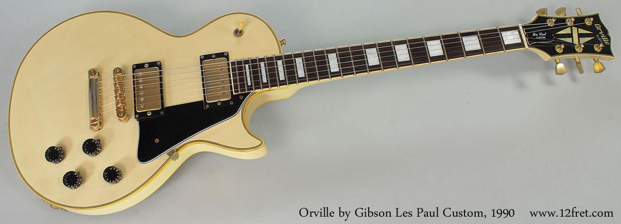 Orville Guitars   Gibson Japan