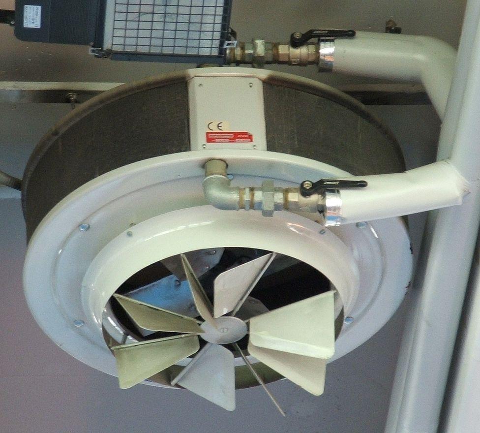 Aerotermos a gas con cámara estanca y abierta: Servicios de Quemadores Ray España
