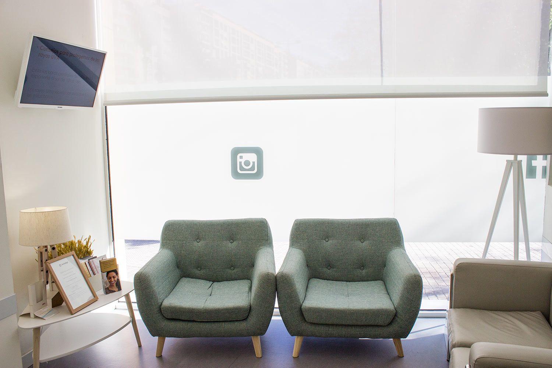 Sala de espera consulta Valencia