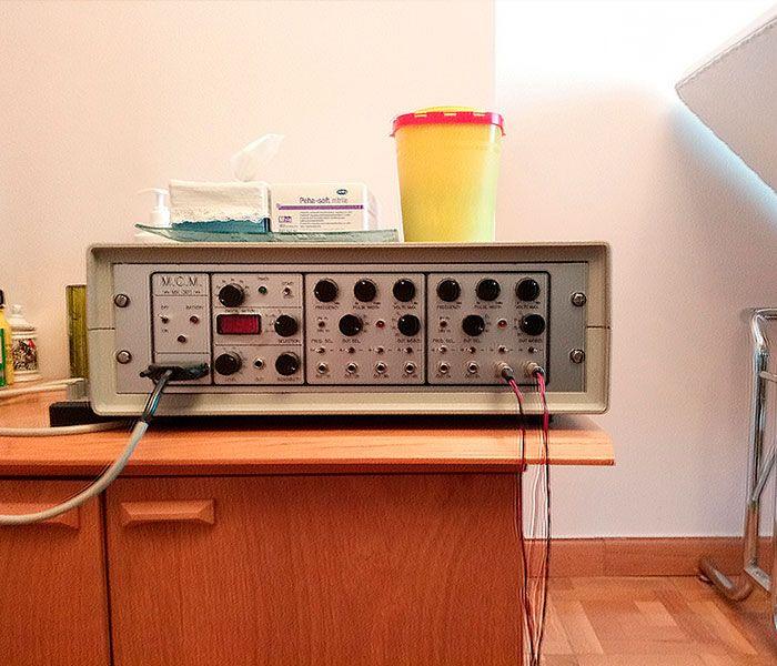 Tratamiento con electroacupuntura
