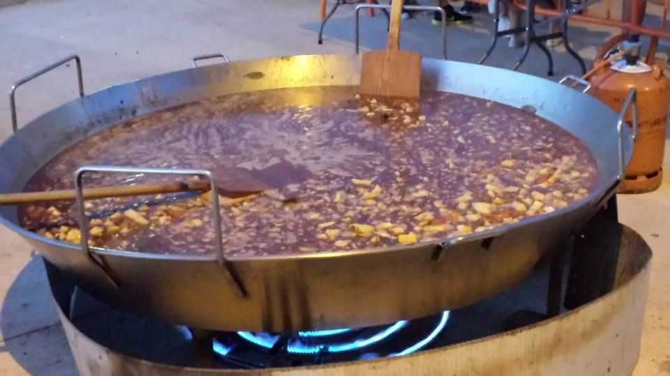 Paellas gigantes en Castilla y León
