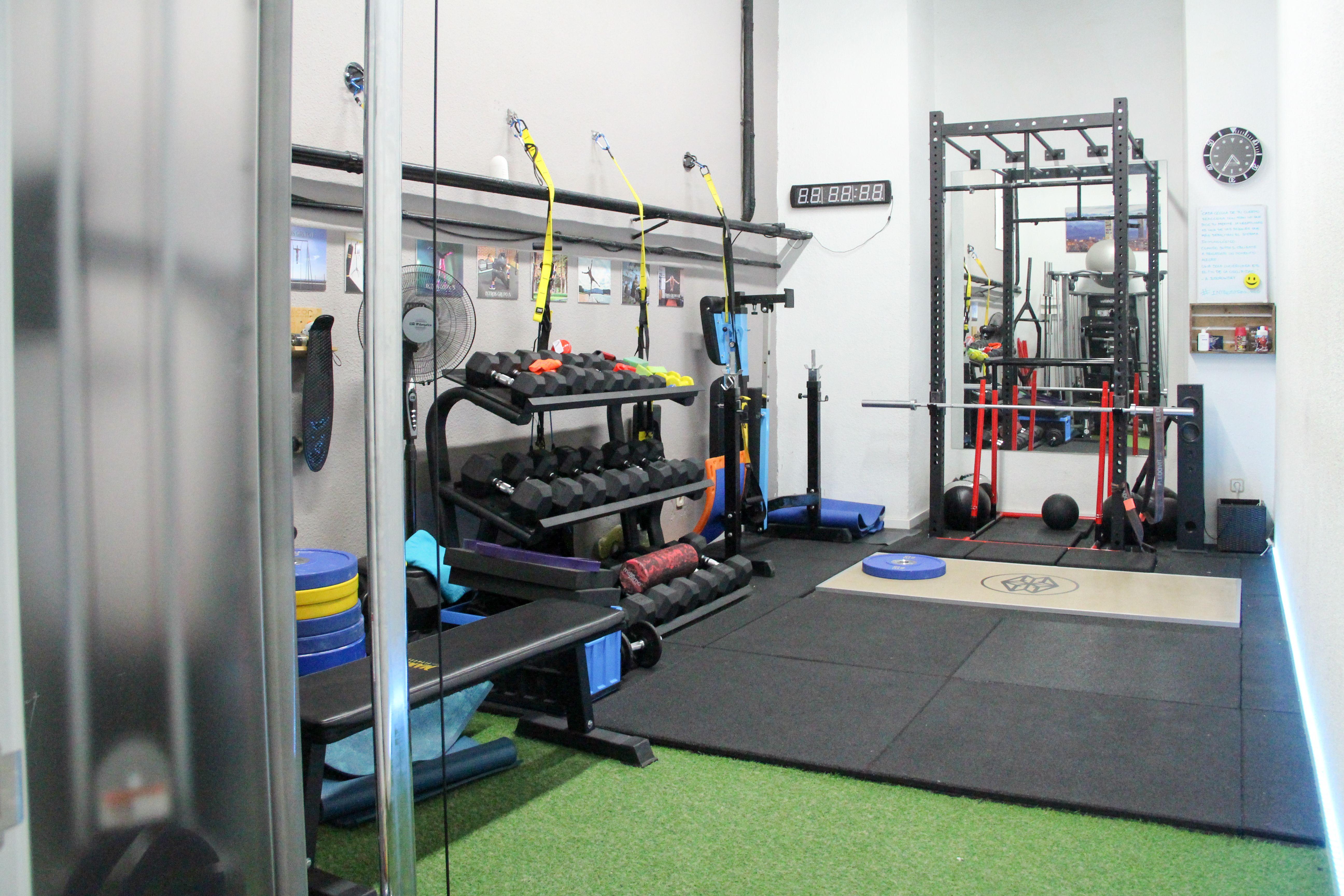 Instalaciones del gimnasio