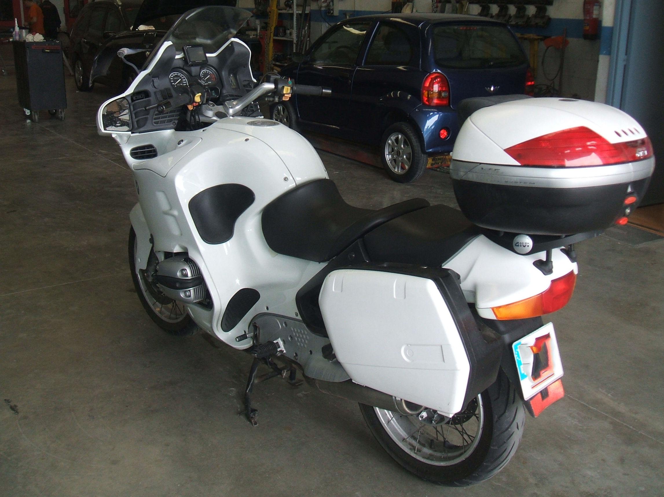Taller mecánico para motos
