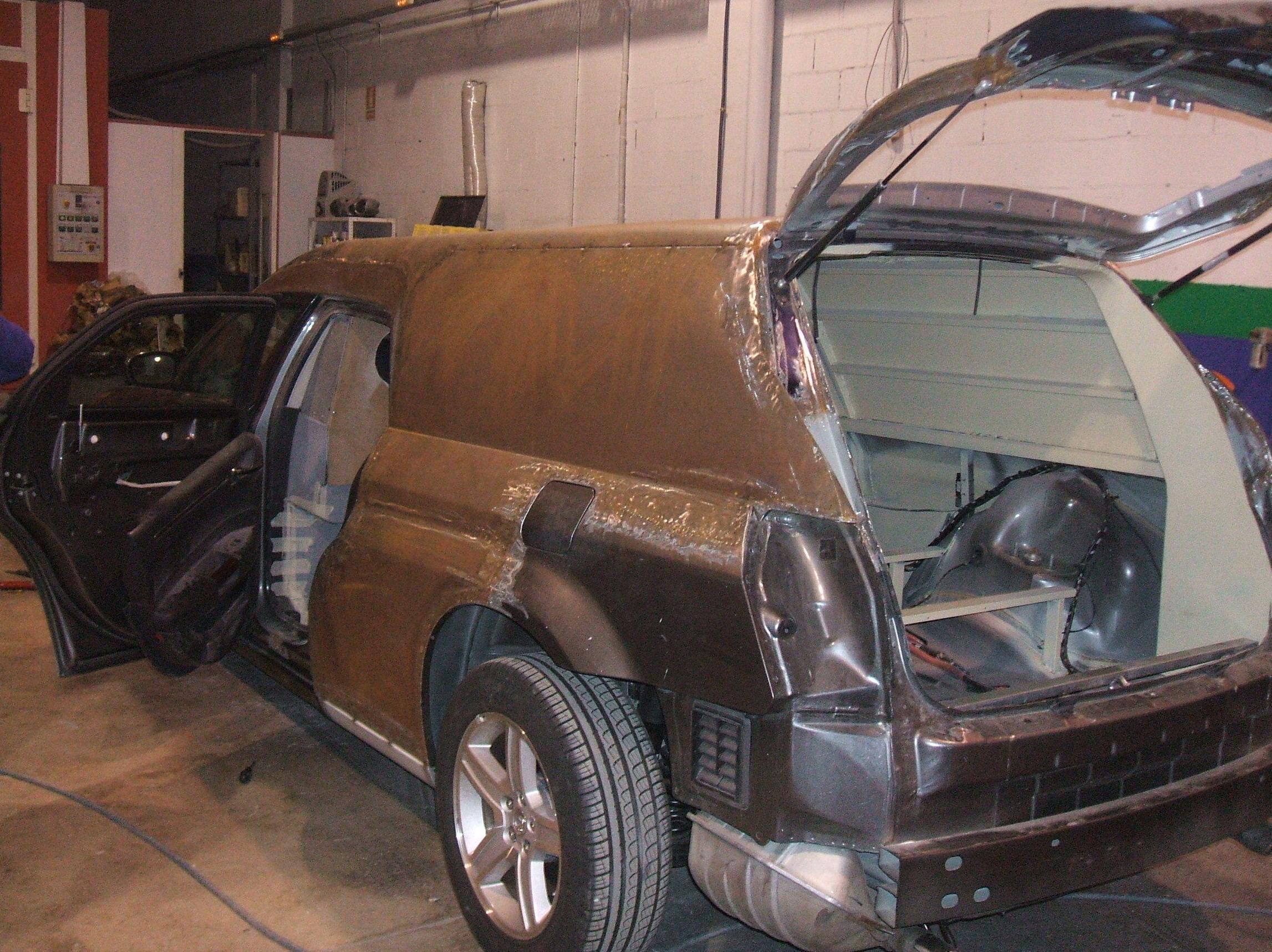 Servicio de chapa y pintura para su automóvil