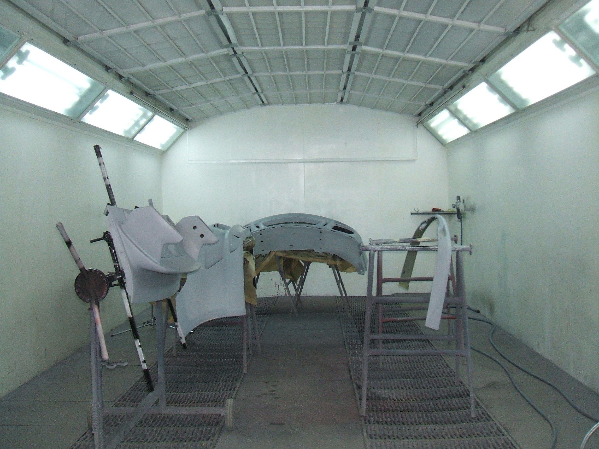 Túnel de pintura para su vehículo