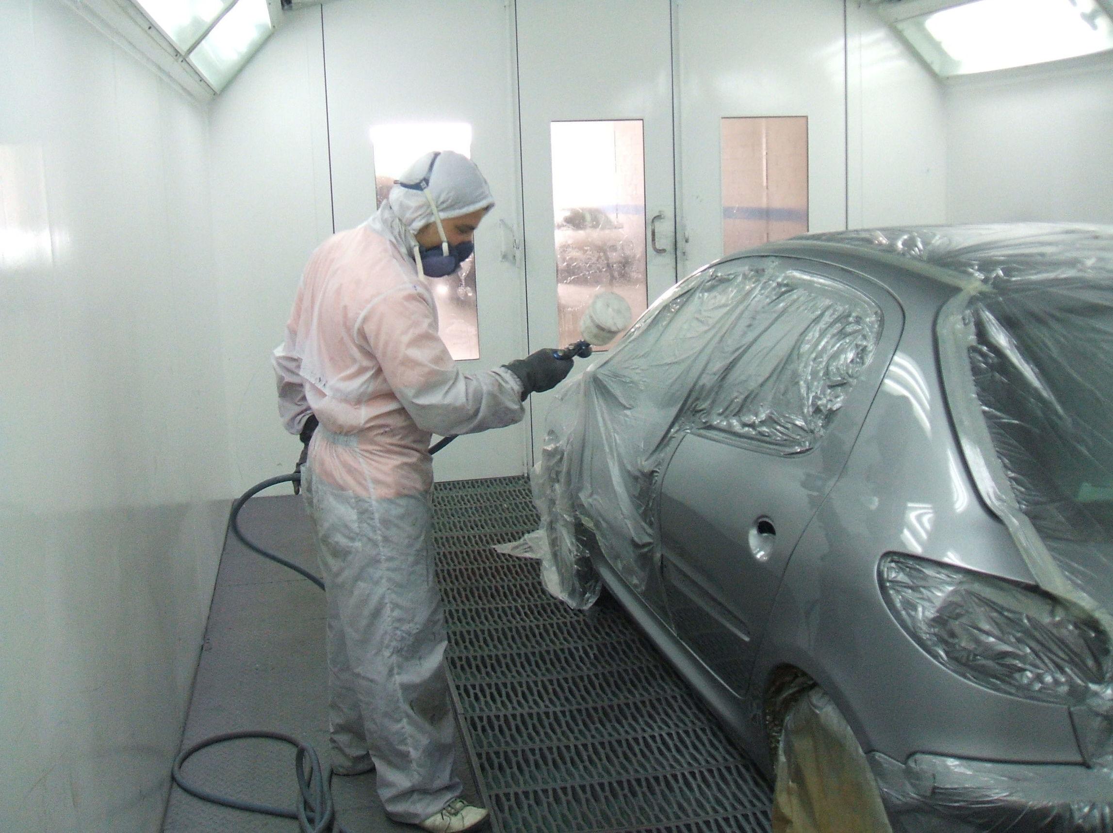 Profesionales en chapa y pintura de su automóvil