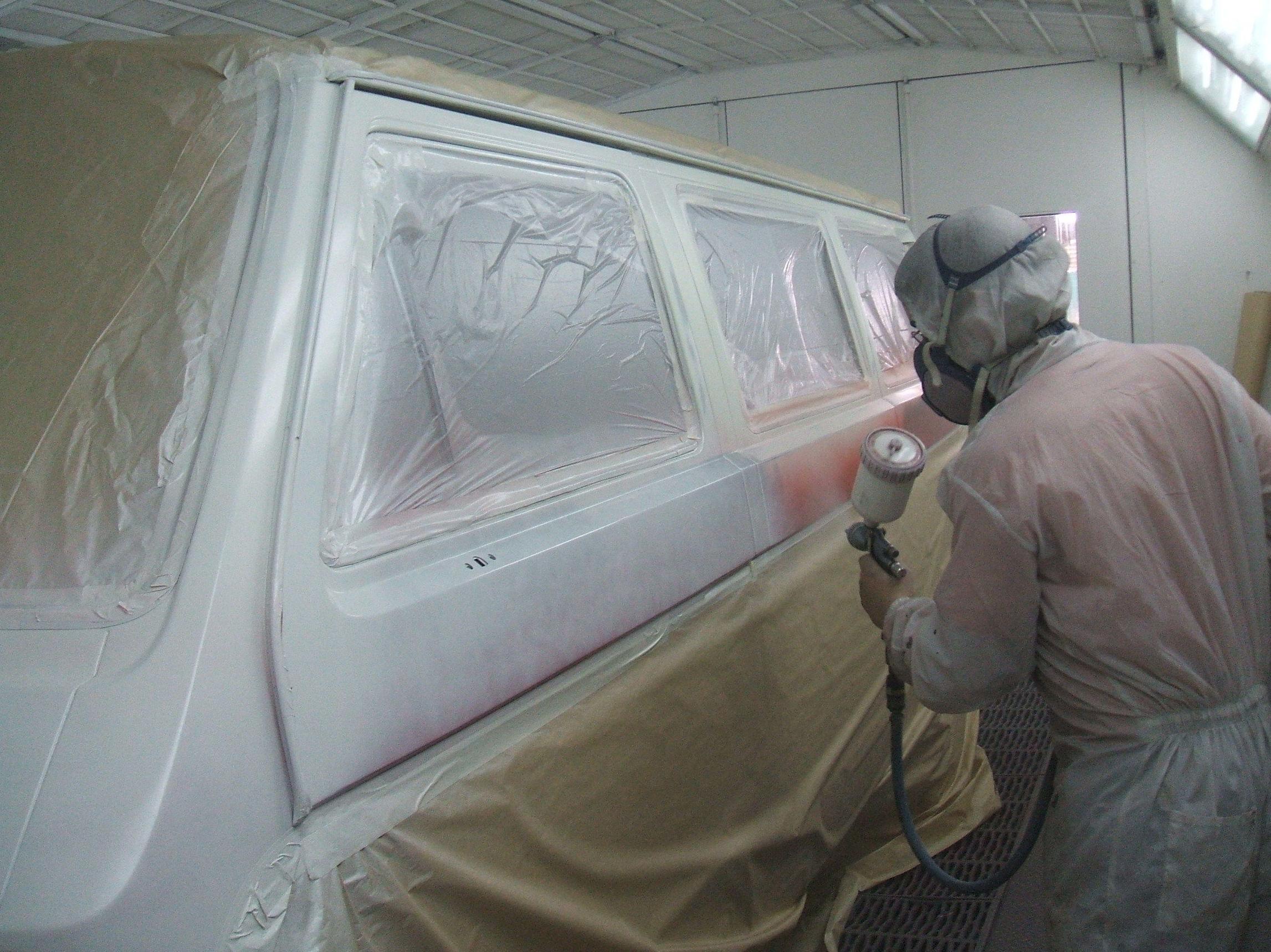 Servicio rápido de pintura