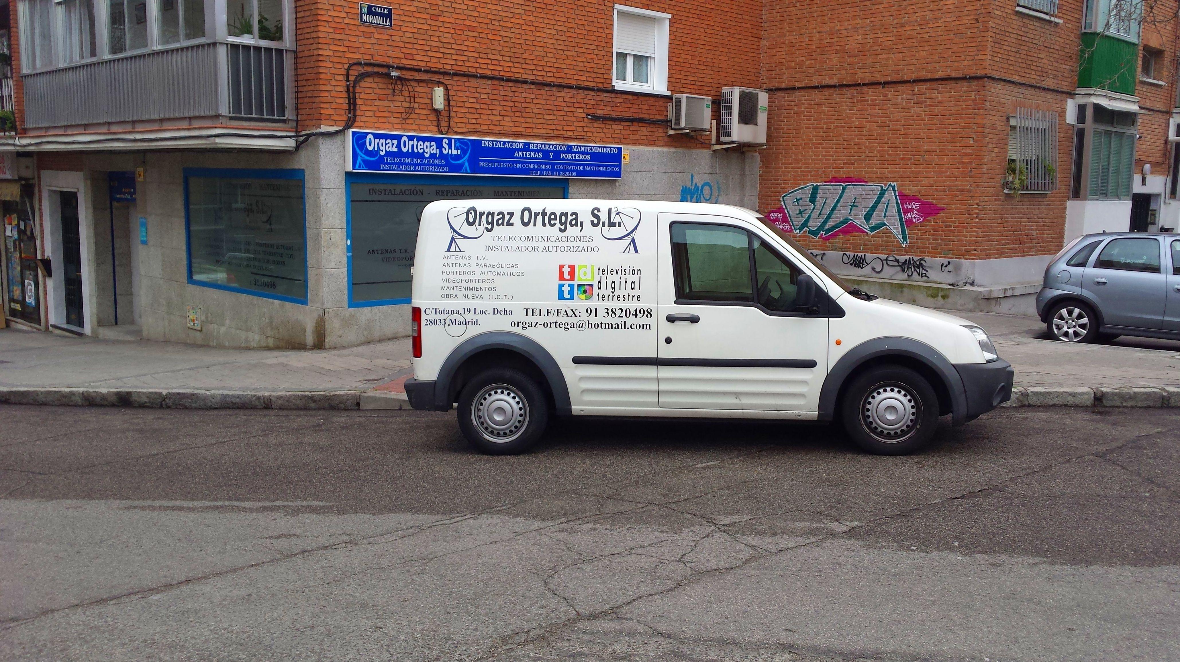 Mantenimientos: Servicios de Antenas Orgaz Ortega