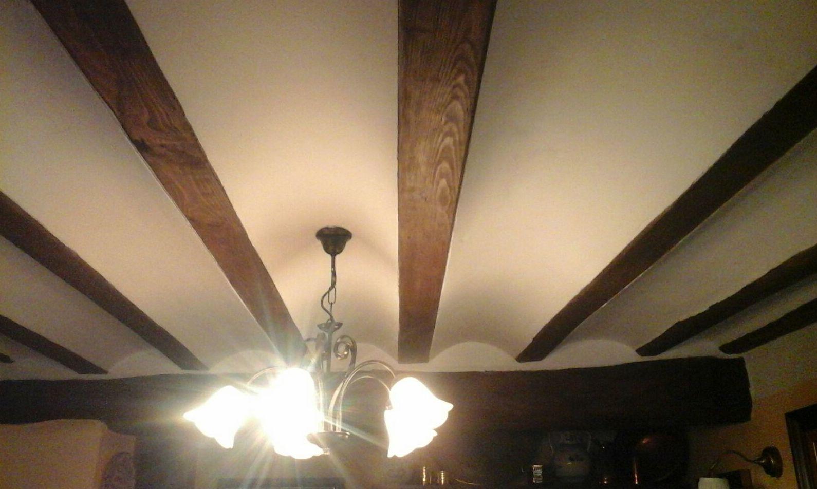 Recuperar vigas de techo