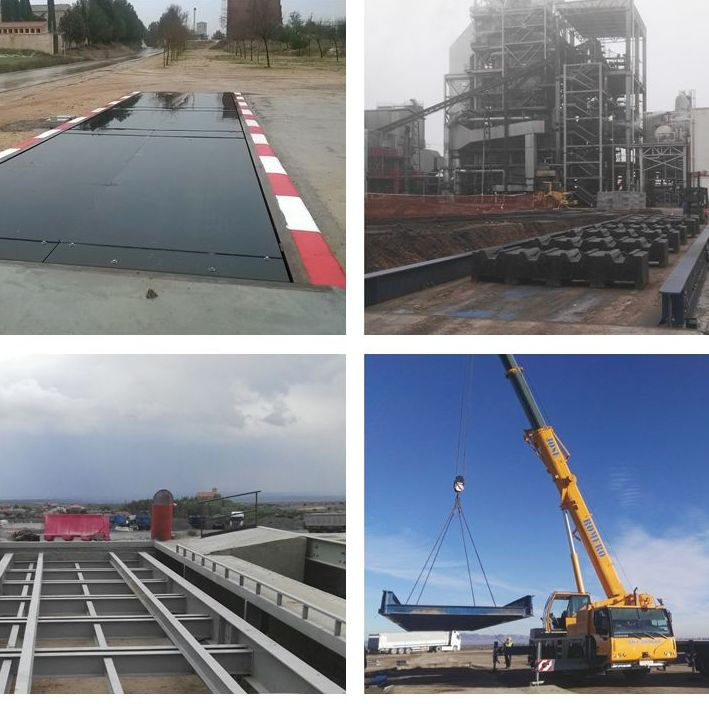 Montaje ,reparación y  calibración de basculas de camiones