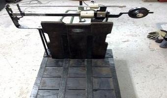 Reparación y restauración de básculas antiguas