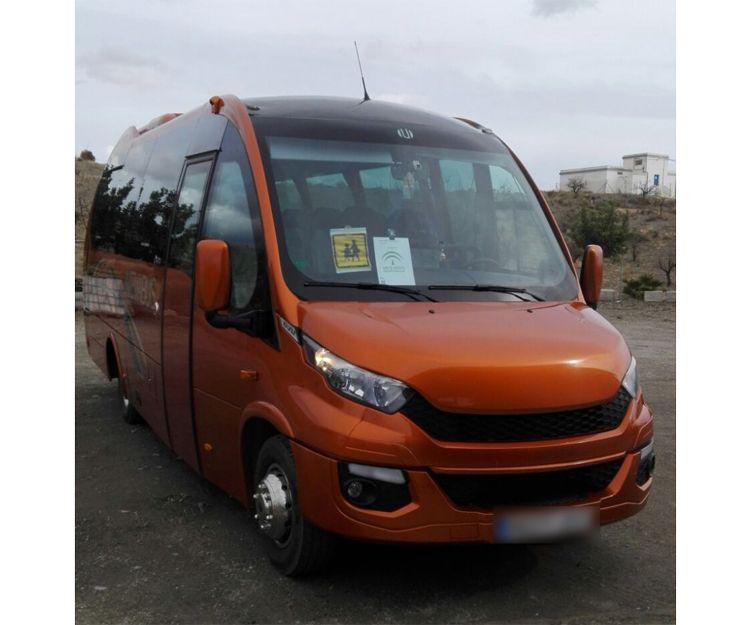 Transporte escolar en Huercal Overa (Almería)