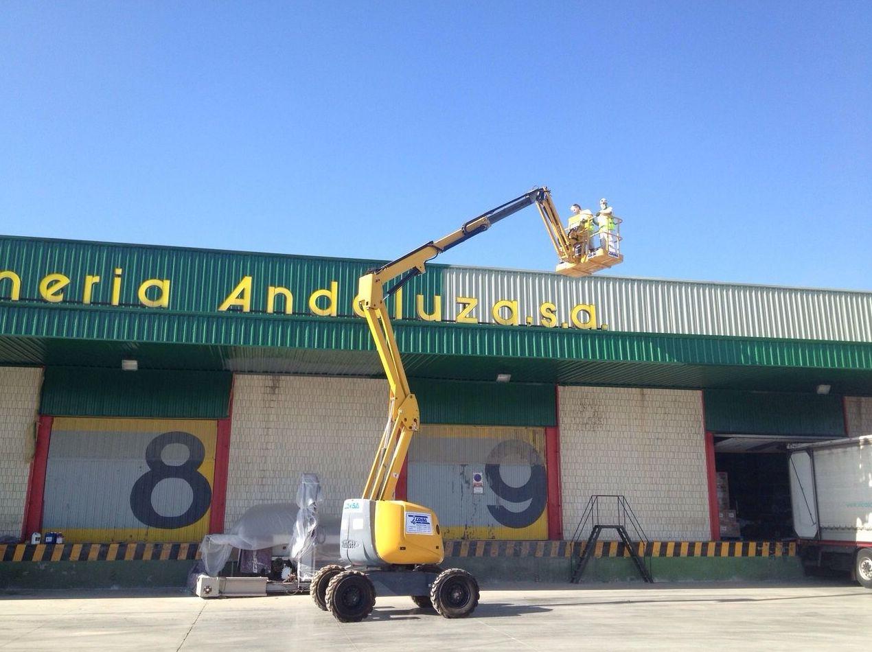 Aplicaciones de pinturas industriales en Córdoba