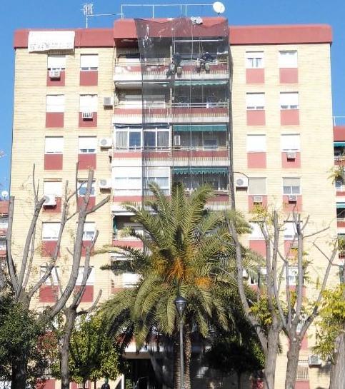 Rehabilitación de fachadas sin andamios en Córdoba