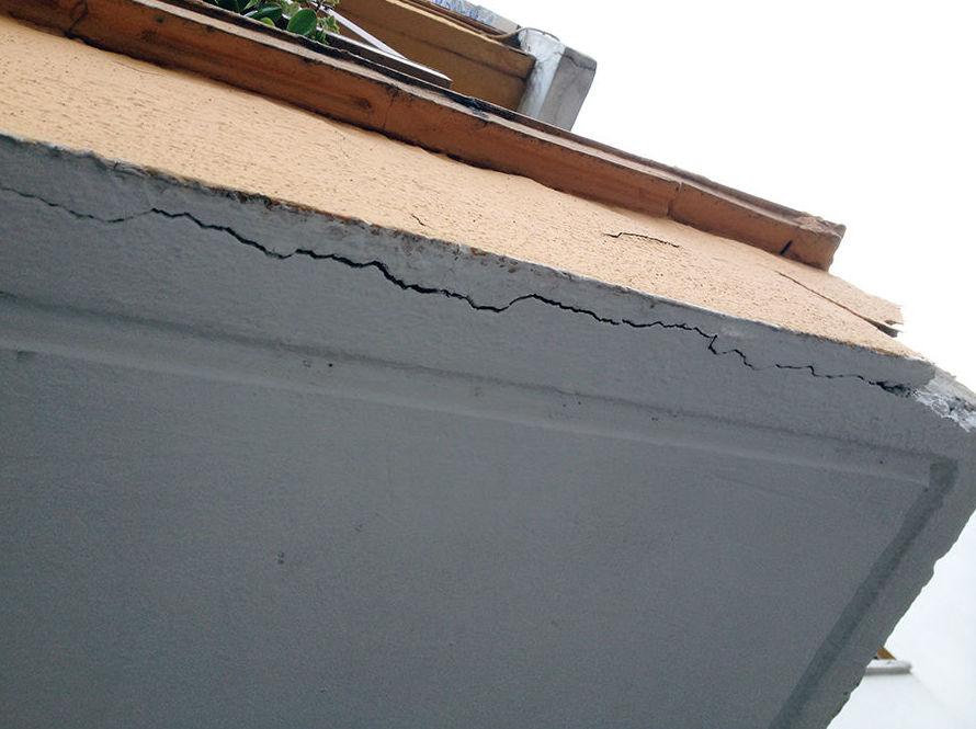 Reparación de grietas estructurales en fachadas sin andamios