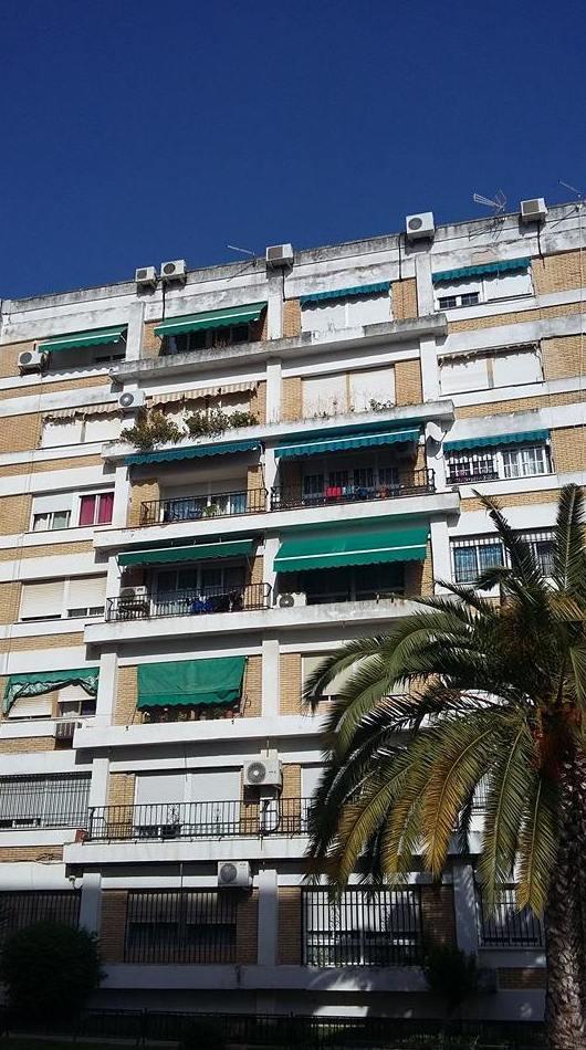 Trabajos verticales en fachadas sin andamios