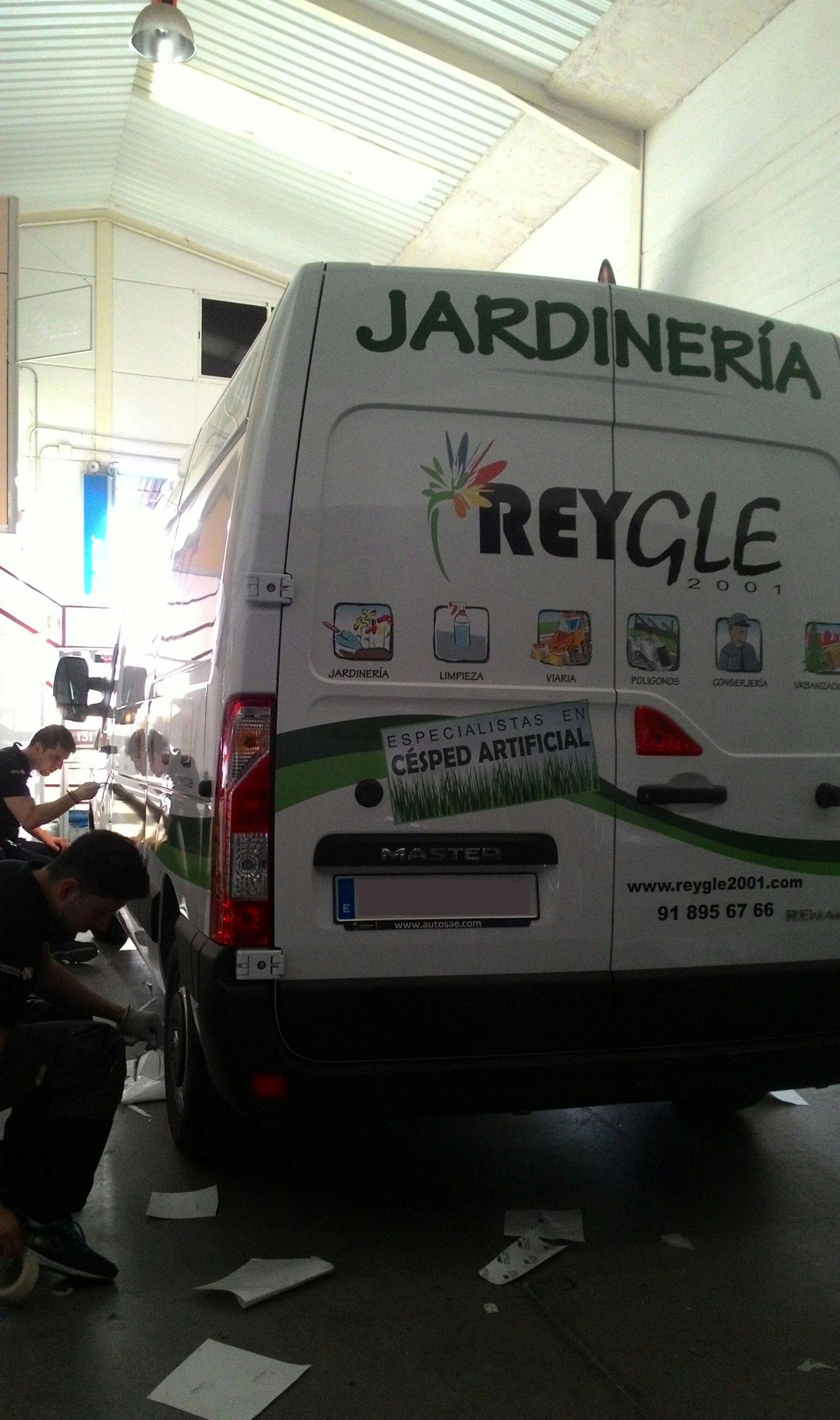 Rotulación de vehículos en Valdemoro