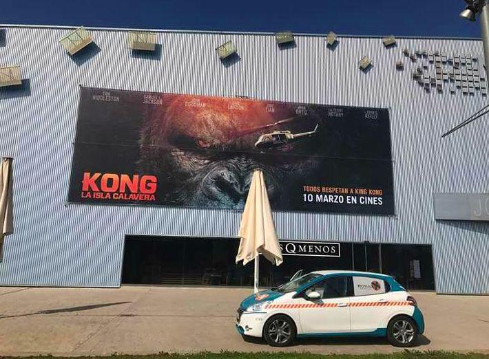 El famoso simio gigante vuelve a la pantalla grande cines Lleida y Tarragona.
