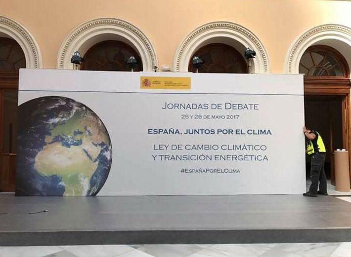 Fabricación montaje y decoración para el evento que se llevó a cabo en el Ministerio de agricultura, pesca, alimentación y medio ambiente realizado en Madrid.