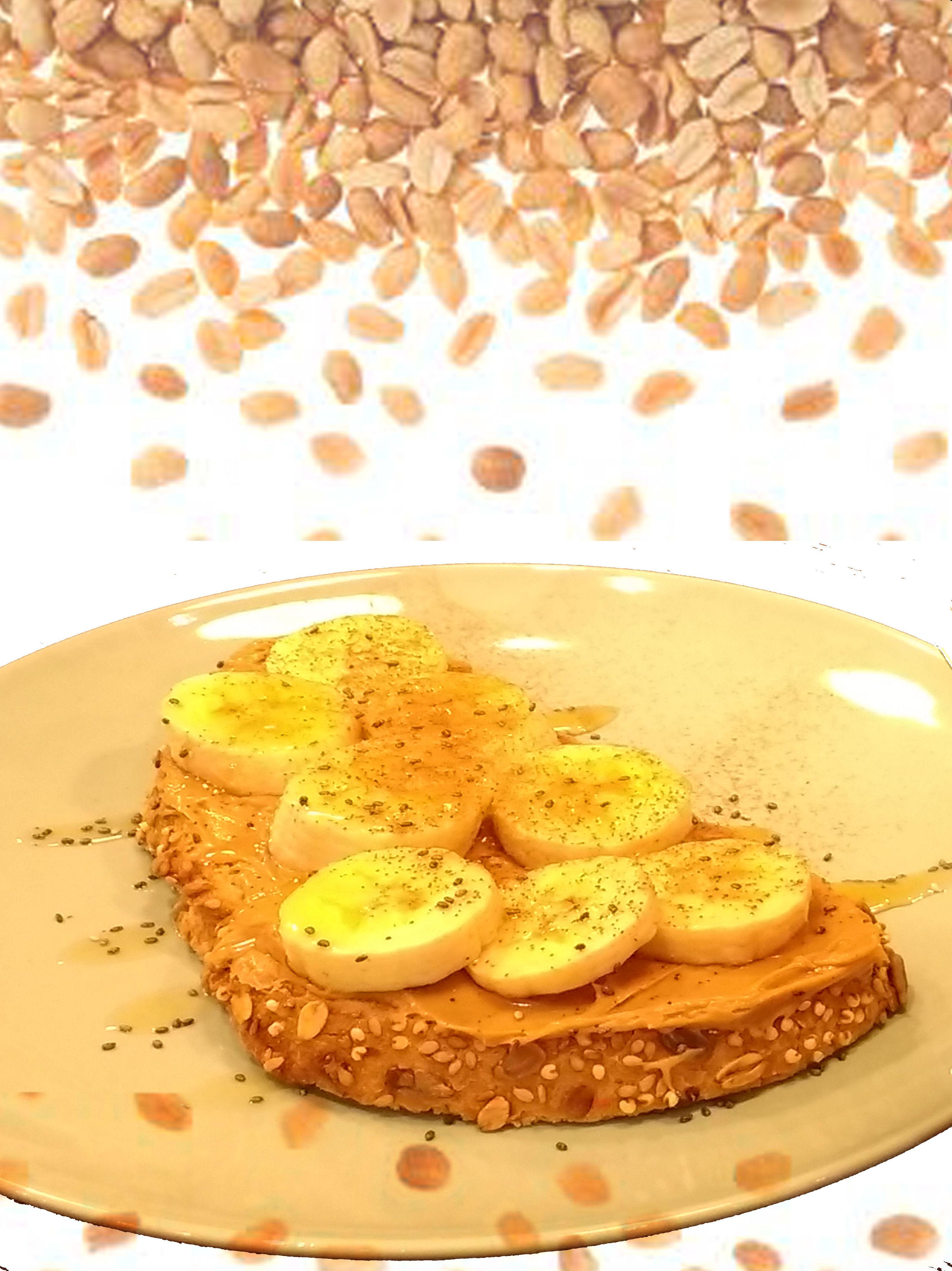 Tosta de Banana: Carta de Kiwio Juice Bar