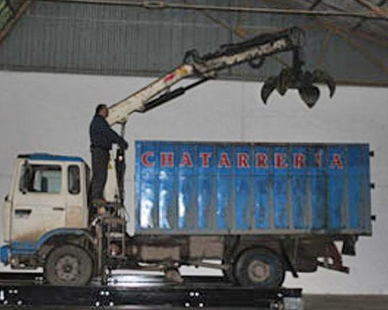 Transporte para recogida en empresas, talleres y particulares