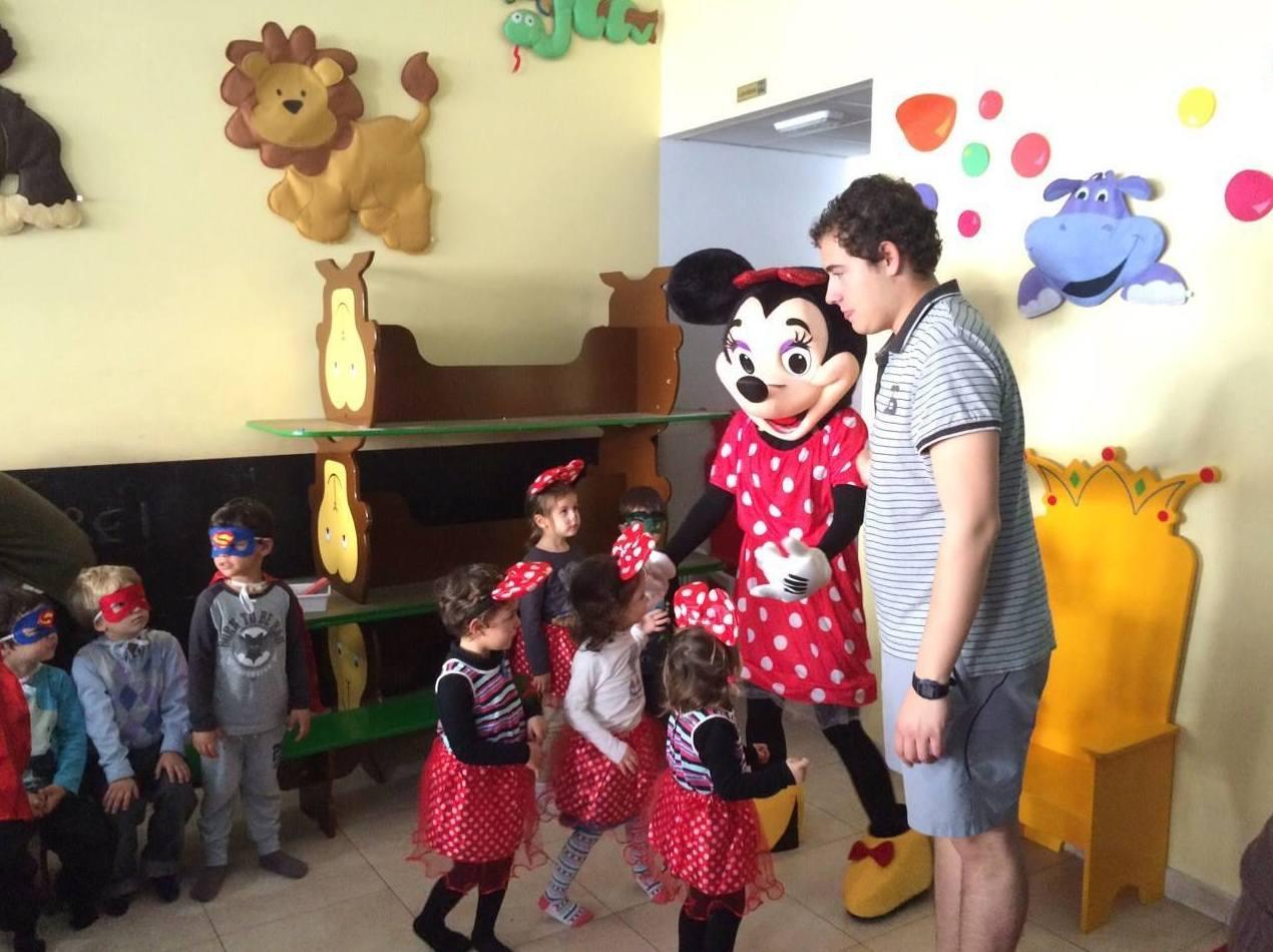 Organización de fiestas y talleres para los pequeños